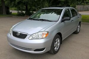 2007 Toyota Corolla CE - Extra Clean, One Owner, Sunroof, AC