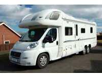 Bessacarr E769 luxury tag axle island bed motorhome, satellite TV, aircon, solar