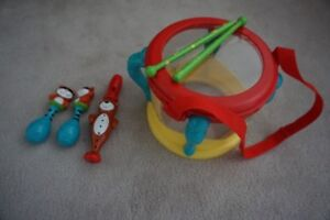 Childrens musical Instruments and Bead toy