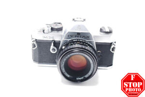 Pentax MX (Silver) with SMC Pentax-M 50mm f2 Lens