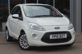 2015 FORD KA 1.2 Zetec 3dr [Start Stop]