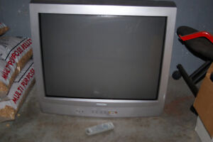 27 inch TV with remote