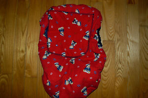 Car seat winter cover and blanket. $15