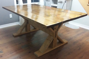 Rustic Harvest Table