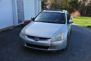 2003 Honda accord EXL for parts or fix up Runs Great