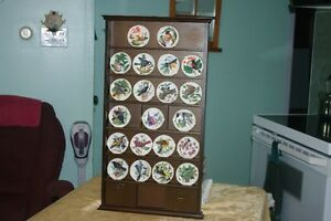 Assiettes de collection,FRANKLIN MINT, 'Songbirds of the World'