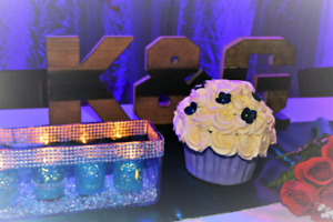 Wedding /Event centrepieces, Flower girl ball and Bouquet.