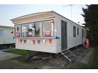 Static Caravan Steeple, Southminster Essex 2 Bedrooms 6 Berth Cosalt Capri 1999