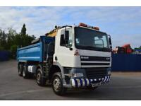 DAF TRUCKS FADCF85.340 8x4 Grab lorry with Steel tipping Body, Manual Gearbox