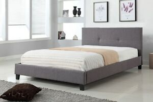 NEW Beds ★ linen Fabric / Leatherette ★ Can Deliver