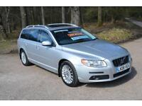 2008 VOLVO V70 D5 SE Lux 5dr Geartronic Automatic ONLY 12,000 MILES