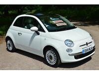 FIAT 500 1.2 Lounge 3dr [Start Stop]LOW MILEAGE 17,000 MILES ONE OWNER