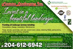 Fontaine Landscaping Inc. - Free Estimates For All Landscaping