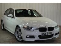 2012 62 BMW 3 SERIES 2.0 320D M SPORT 4D AUTO 181 BHP DIESEL