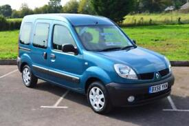 2007 RENAULT KANGOO 1.2 Authentique 5dr 18,000 MILES WHEELCHAIR CONV