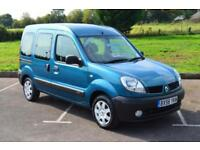 RENAULT KANGOO 1.2 5dr LOW MILEAGE ONLY 18,000 MILES WHEELCHAIR ADAPTED
