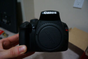 Canon Rebel EOS T3 Body - With Memory Card!! - DSLR $250!!