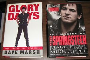 Lot of 5 Bruce Springsteen books