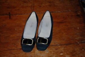 Talbots black suede flats Kitchener / Waterloo Kitchener Area image 1