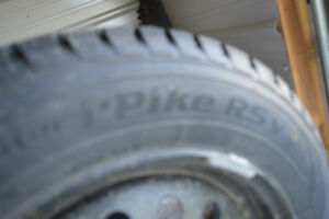 Snow tires Hankook I-Pike Carolla honda etc
