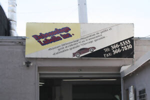 Garage Looking for Auto Body Work