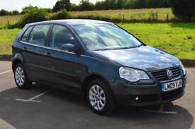 2009 VOLKSWAGEN POLO 1.4 SE 80 5dr ONLY 12,000 MILES