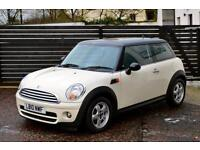 2010 MINI COOPER D 1.6 PEPPER WHITE FSH 2 KEYS 60MPG+ £20 TAX