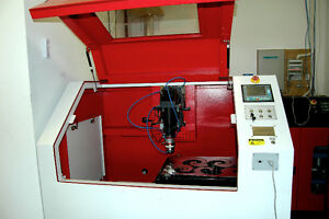 YAG CNC Laser -  for cutting Metal - in the office - NEW PRICE