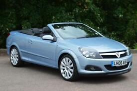 2006 VAUXHALL ASTRA CONVERTIBLE 1.8 VVT Design 2dr TWIN TOP LOW MILEAGE