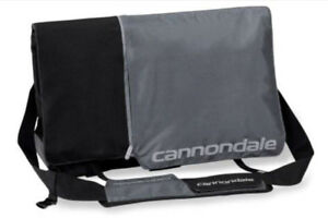 Cannondale No-Kill Messenger Bag - Silver & Black-$40