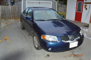 2005 Nissan Sentra Sedan Kitchener / Waterloo Kitchener Area image 1