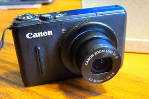 Canon S100 12 meg, high performance point and shoot camera