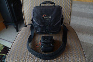 LowePro Camera Bag (with small Roots compact camera case)