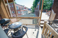 1400ft2 - 8 1/2 Lower duplex- NDG/Westmount