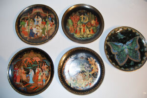 Russian Themed Collector Plates