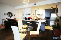 FOR RENT: Laval – Cosmo – New Condo Semi-furnished
