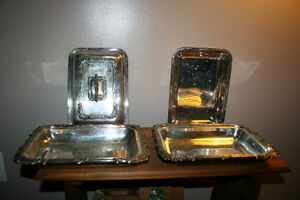 Antique Silver Plated Serving Trays Kingston Kingston Area image 3