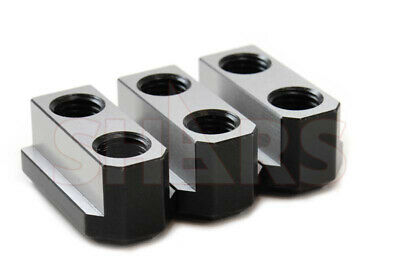 "SHARS 8"" JAWS T NUT 3 PCS SET FOR B-208 KITAGAWA CNC LATHE C"