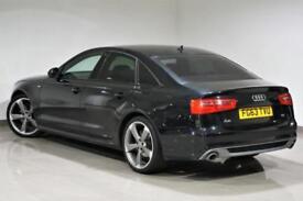 2013 Audi A6 S - LINE Black Edition Saloon 3.0TDI AUTO -BLACK- PX SWAP -WARRANTY