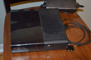 XBOX 360, with games and controllers