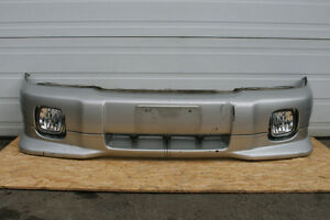 JDM SUBARU FORESTER S-TB FRONT BUMPER WITH LIP & FOG LIGHT 00-02