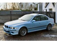 2002 E39 M5 V8 SILVERSTONE BLUE FBMWSH 3 KEYS LOW RATE FINANCE AVAILABLE