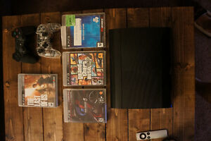 PS3 W/4 Games