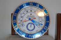 BEAUTIFUL RARE BRAND NEW ROLEX WALL CLOCK