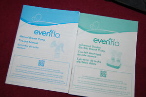 Deluxe Evenflo Advanced Double Electric Breast Pump
