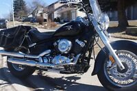 2008 Yamaha V Star with low miles, mint