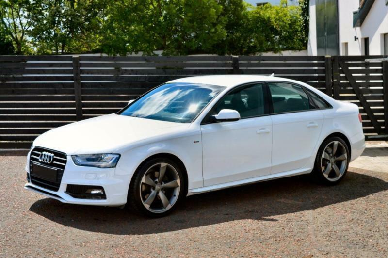 2014 audi a4 s line black edition 2 0 tdi 150 ibis white top spec in ballymoney county antrim. Black Bedroom Furniture Sets. Home Design Ideas