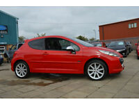 2007 PEUGEOT 207 1.6 THP 175 GTI.LOW MILEAGE.OCTANE PACK,(RARE CAR)