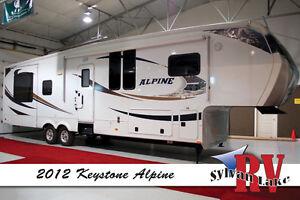 2012 Keystone Alpine - No Higher Altitude in a 5th Wheel