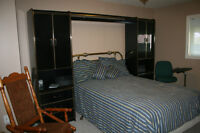 Furnished and unfurnished bedroom in charming home now available